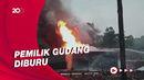 Gudang Solar Ilegal di Jambi Terbakar, Butuh 4 Jam Padamkan Api