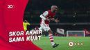 Susah Payah Arsenal Hindari Kekalahan dari Crystal Palace