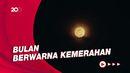 Fenomena Bulan Berwarna Kemerahan di Langit Jakarta, Ini Kata BMKG