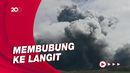Tangkapan Gambar Asap Raksasa Saat Gunung Aso Erupsi