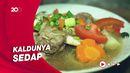 Bikin Laper: Nikmatnya Menyantap Ayam Goreng dengan Sup Iga