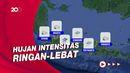 Sebagian Wilayah Indonesia Cerah Berawan-Hujan