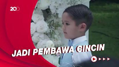 Antusiasme El Barack di Pernikahan Jessica Iskandar dan Vincent Verhaag