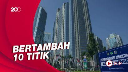 PPKM Level 2, Ganjil Genap di Jakarta Jadi 13 Titik