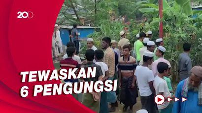 Bentrok Berdarah 2 Kelompok Pengungsi Rohingya di Bangladesh