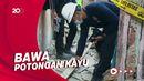 Tim Puslabfor Polri Gelar Olah TKP Rumah Ambruk di Jakarta Barat