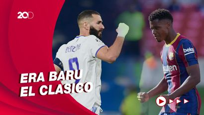 El Clasico Malam Ini! Head to Head Barcelona Vs Madrid