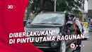 Ganjil Genap Berlaku di Ragunan, Puluhan Kendaraan Diputar Balik
