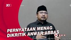 Pernyataan Yaqut Kemenag Hadiah Negara untuk NU yang Dikritik Anwar Abbas