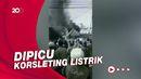 Kebakaran di Pasar Kalideres Puluhan Kios Terbakar