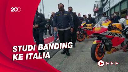 Jelang MotoGP Mandalika, Polda NTB Contek Pengamanan di Misano