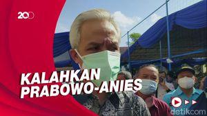 Ganjar Pranowo Jadi Capres Unggulan Versi Survei Poltracking