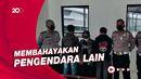 Ugal-ugalan di Jalan, 3 Anggota Geng Motor di Cianjur Ditangkap!