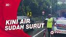 Usai Diguyur Hujan, Terowongan Tol Cawang Tergenang