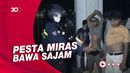 Petugas Temukan Sajam dari 5 Pemuda Tengah Pesta Miras di Polman