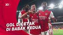 Arsenal ke Perempatfinal Usai Bungkam Leeds 2-0