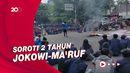 Massa Mahasiswa Geruduk Gedung DPRD Jabar, Soroti Kinerja Jokowi-Maruf