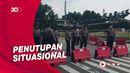 Ada Demo Buruh-Mahasiswa, Ruas Jalan Menuju Istana Ditutup