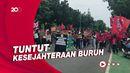 Bakal Demo di Depan Istana, Massa Buruh Mulai Bergerak