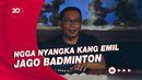 Atlet Bulutangkis Bellaetrix Mengajukan Program Piala Gubernur kepada Ridwan Kamil